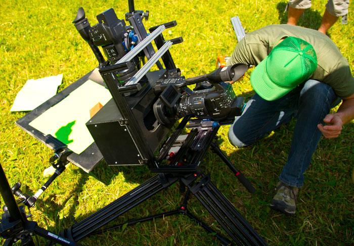 FastRig utilisé avec deux caméra sony PMW-EX1